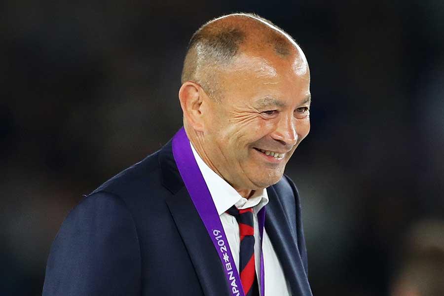 ラグビーイングランド代表のエディー・ジョーンズHC【写真:Getty Images】