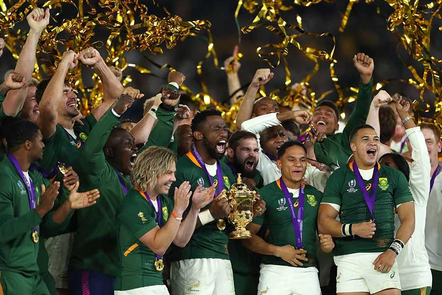 ラグビーW杯で3度目の優勝を果たした南アフリカ【写真:Getty Images】