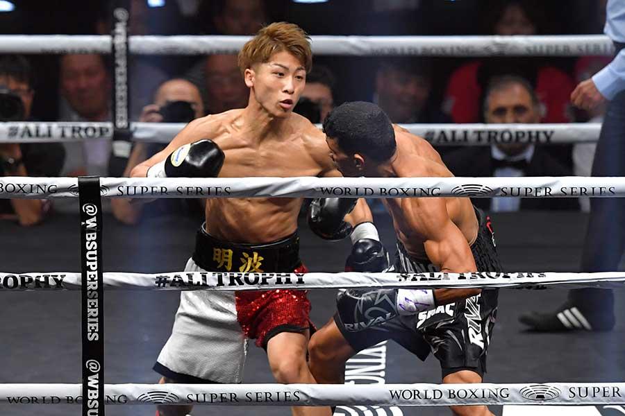 2018年10月WBSS1回戦、井上尚弥はフアン・カルロス・パヤノにKO勝ちを収めた【写真:Getty Images】