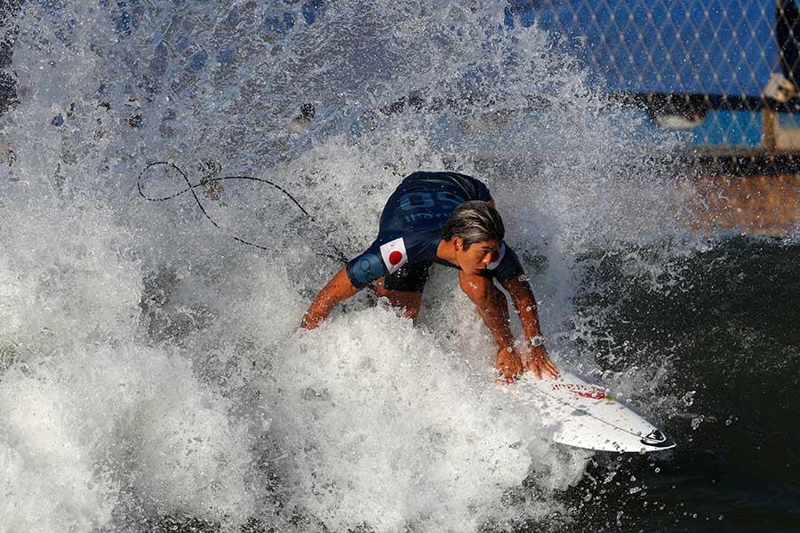 東京五輪でメダル獲得が期待されるサーファーの五十嵐カノア【写真:Getty Images】