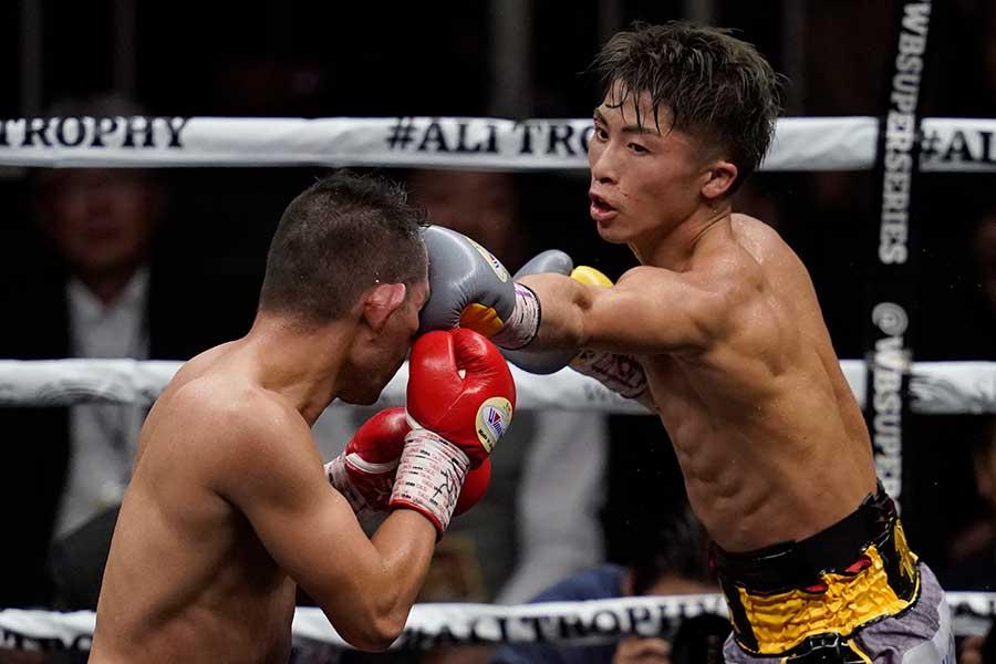 昨年11月にノニト・ドネアと対戦した井上尚弥【写真:Getty Images】
