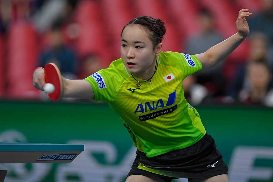 女子日本代表の伊藤美誠【写真:Getty Images】