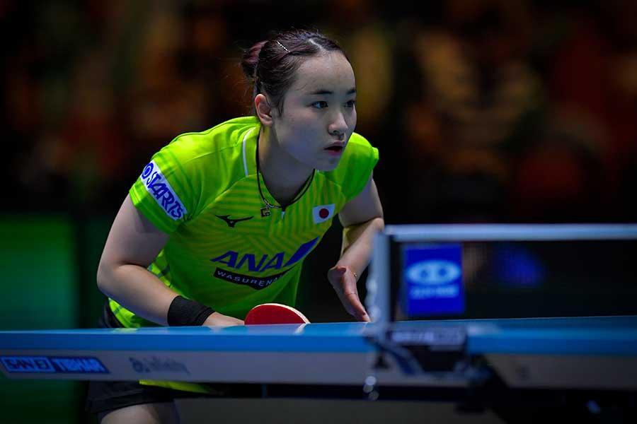 卓球女子日本代表の伊藤美誠【写真:Getty Images】