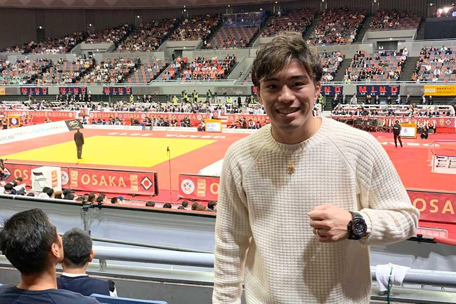 前WBO世界スーパーフェザー級王者・伊藤雅雪【写真:浜田洋平】