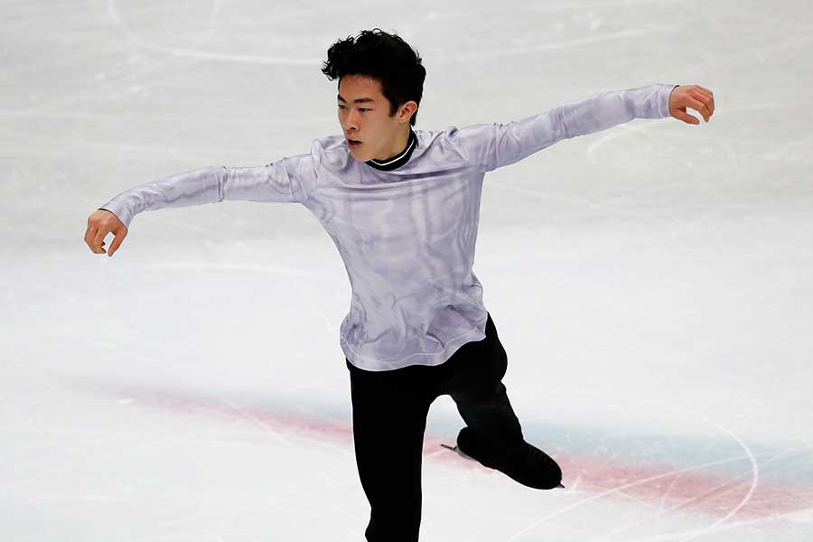 ネイサン・チェン【写真:AP】