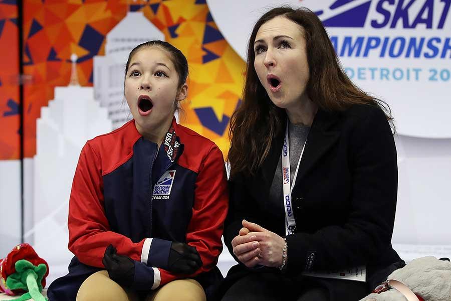 アリサ・リウ(左)【写真:Getty Images】