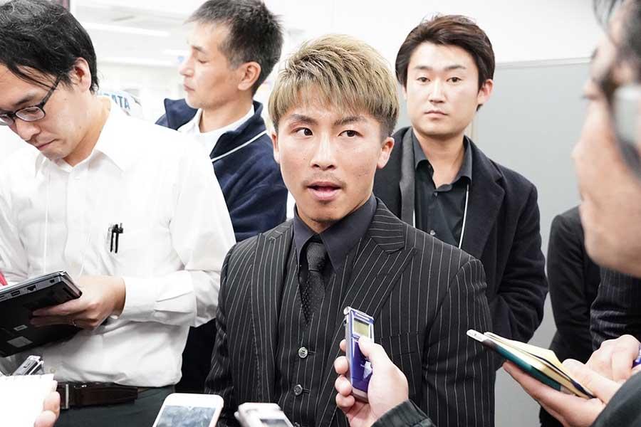 井上尚弥【写真:荒川祐史】