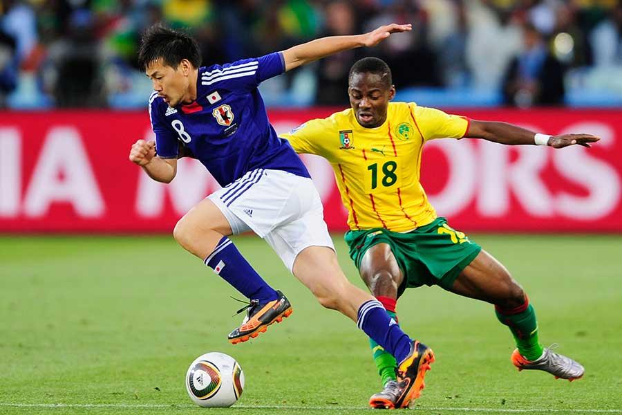 南アフリカW杯では日本のベスト16進出に大きく貢献【写真:Getty Images】