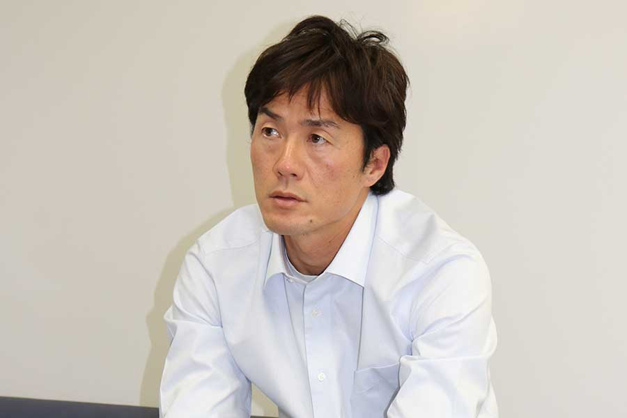 ATP現役最年長ランカーの41歳・松井俊英【写真:編集部】
