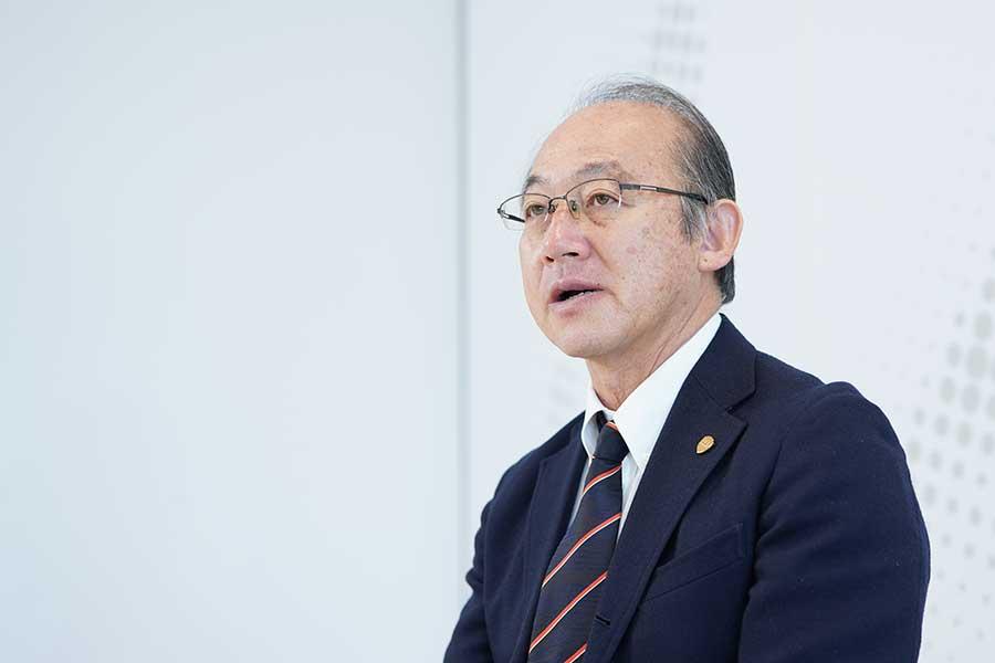 公益財団法人日本陸上競技連盟強化委員長を務める麻場一徳氏