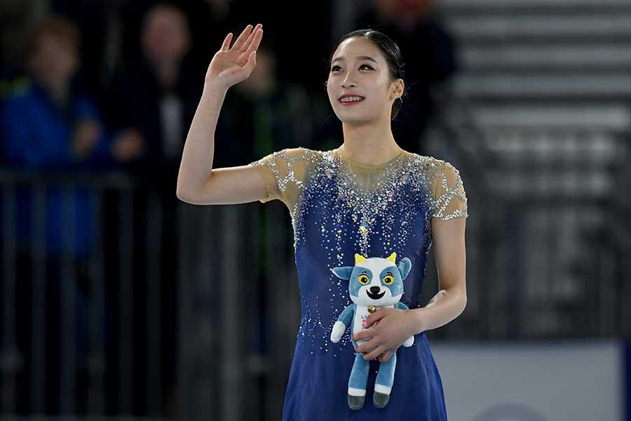 ユース五輪で金メダルを獲得した韓国のユ・ヨン【写真:Getty Images】