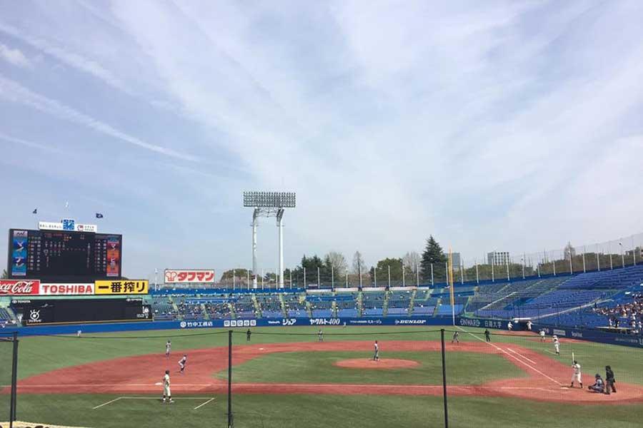 明治神宮野球場【写真:編集部】