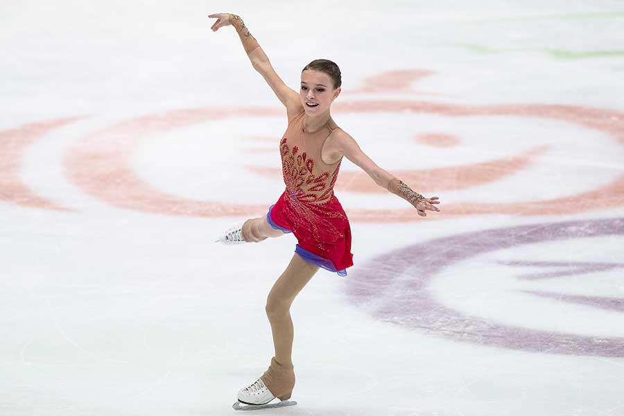 欧州選手権2位のアンナ・シェルバコワ【写真:Getty Images】