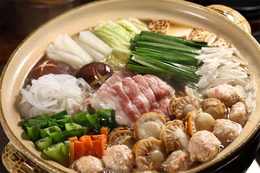 具材や味付けのバリエーションが豊富で栄養バランスに優れたちゃんこ鍋