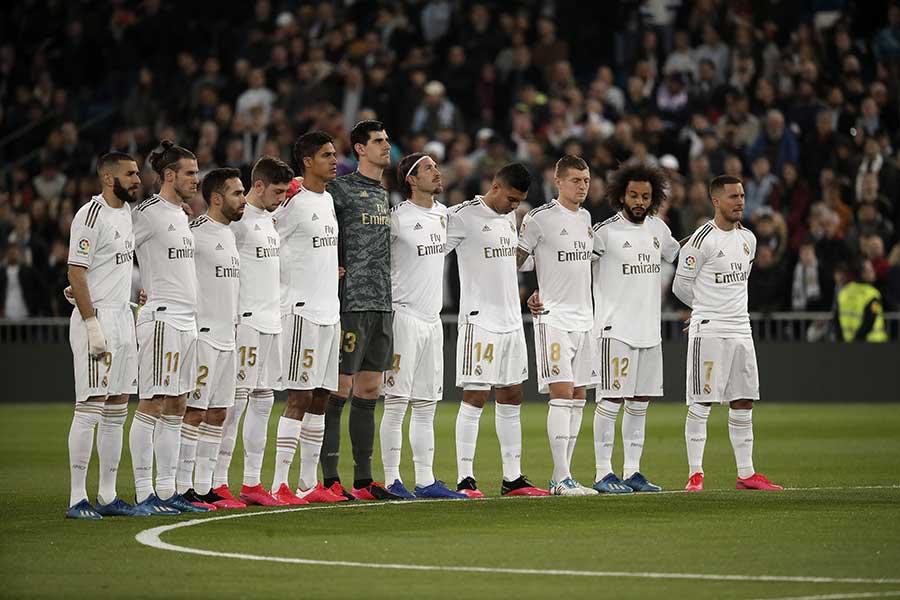 レアル・マドリードの選手たち【写真:Getty Images】