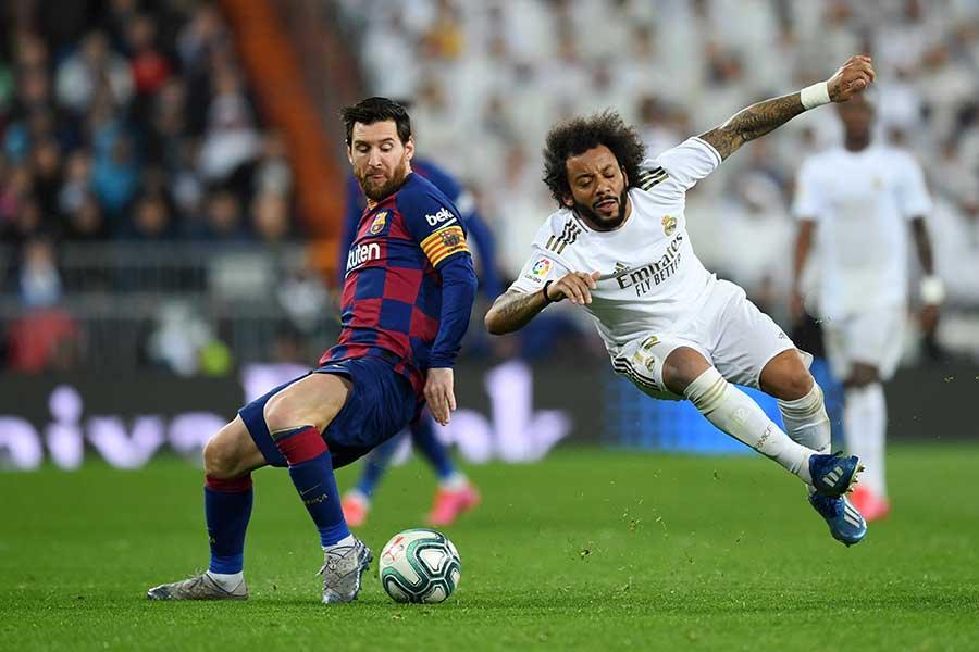 マルセロはメッシのチャンスを防ぐなどチームの勝利に貢献【写真:Getty Images】