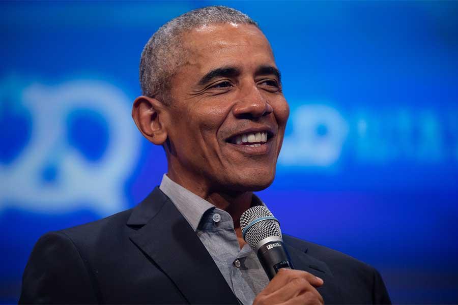 前米大統領のバラク・オバマ氏【写真:Getty Images】
