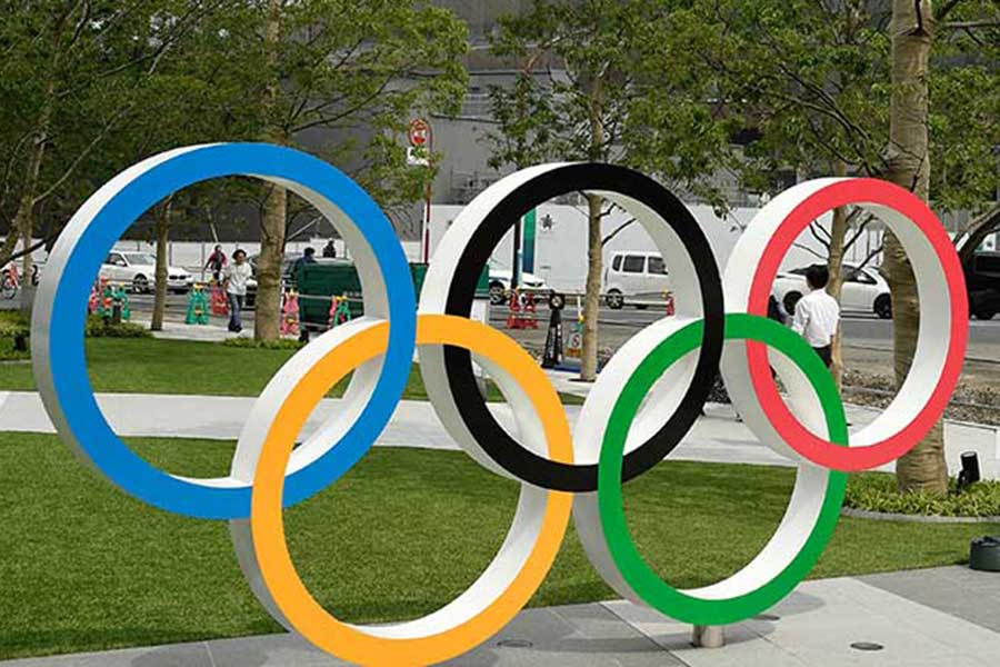 各国の五輪委員会や選手から延期を求める意見が相次いでいる東京五輪【写真:Getty Images】
