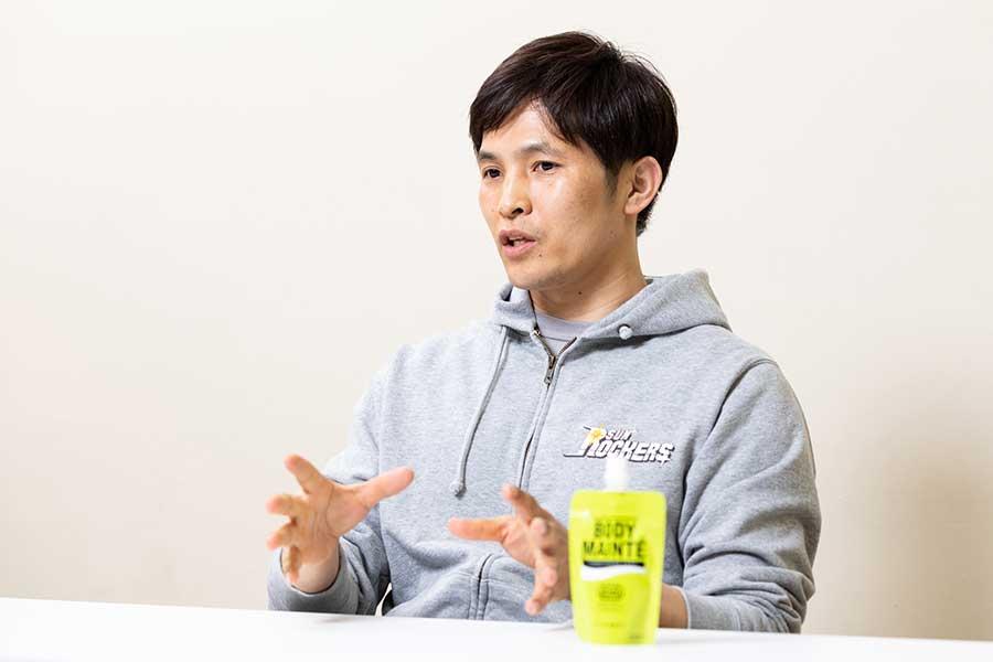 スポーツサイエンス&パフォーマンスディレクターとしてチームを支える吉田修久コーチ