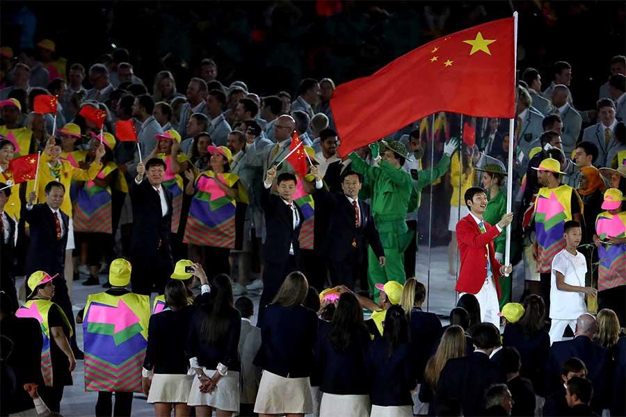 中国政府は、東京五輪開催についてIOCと日本の決断を尊重する姿勢を見せている【写真:Getty Images】