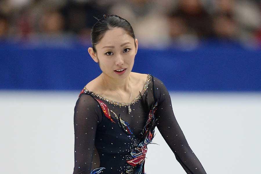 現役時代の安藤美姫【写真:Getty Images】