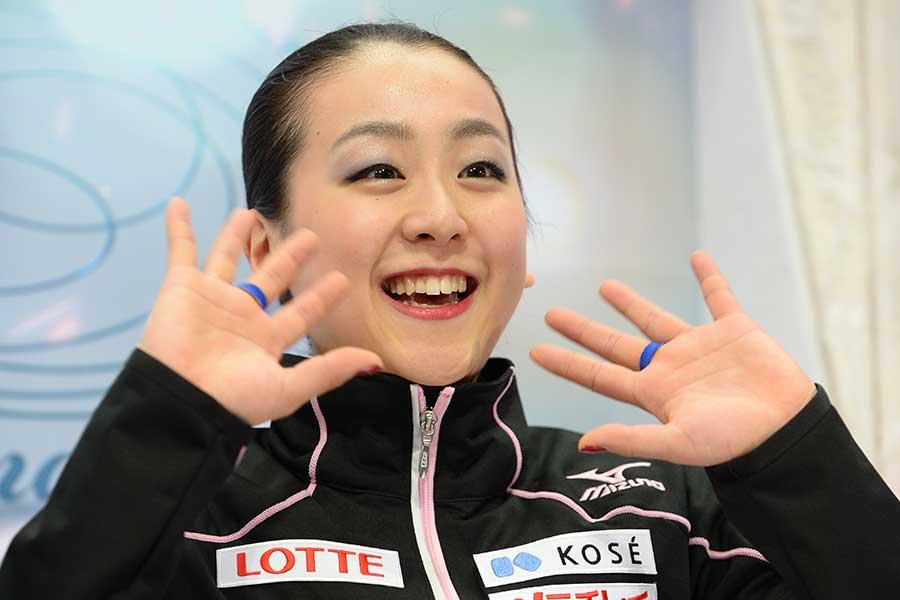 フィギュアスケートの浅田真央さん【写真:Getty Images】