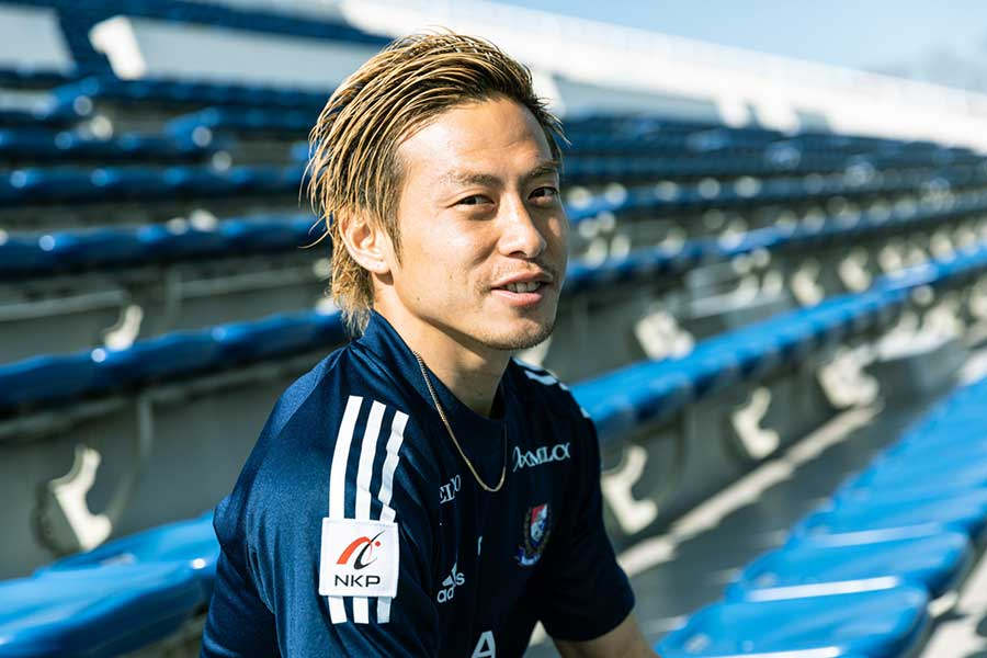 昨季、27歳でMVPに輝いた男が自身の分岐点を語る【写真:松橋晶子】
