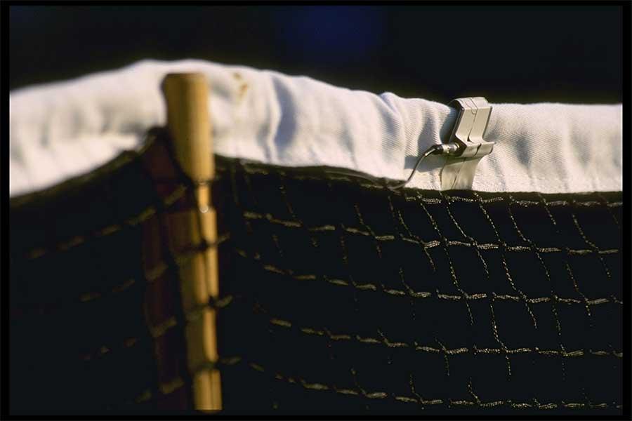 """イタリアで行われた""""超社会的距離""""でのテニスとは……(写真はイメージ)【写真:Getty Images】"""