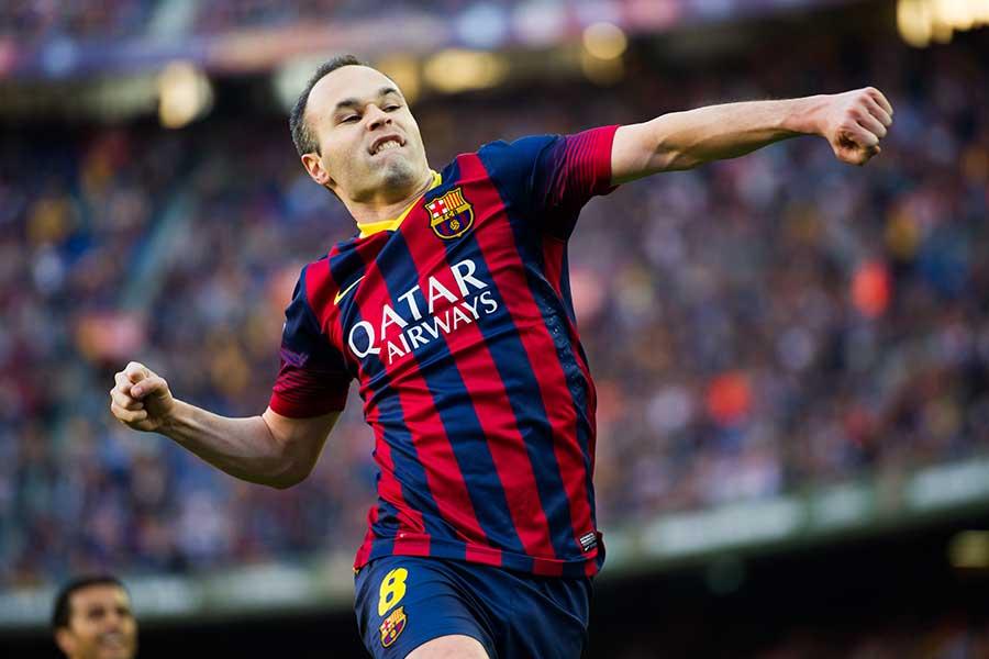 24日からバルセロナ時代のイニエスタの試合を配信する【写真:Getty Images】