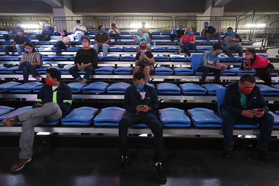 会場の観客席の様子【写真:Getty Images】