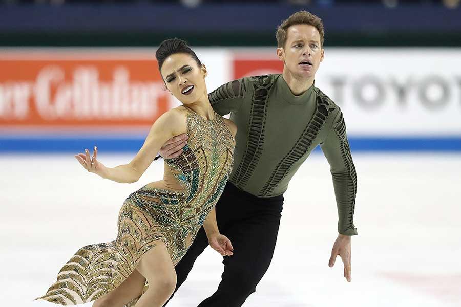 アイスダンスのマディソン・チョック(左)【写真:Getty Images】