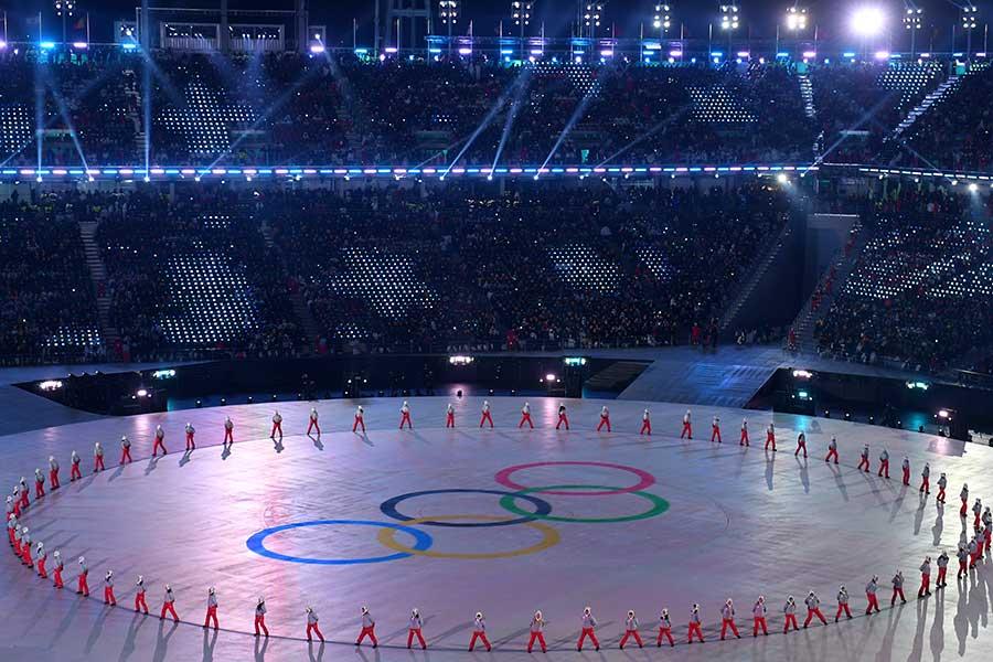 平昌五輪開会式で視線を釘付けにしたのが、エストニアの美人すぎる旗手だった【写真:Getty Images】