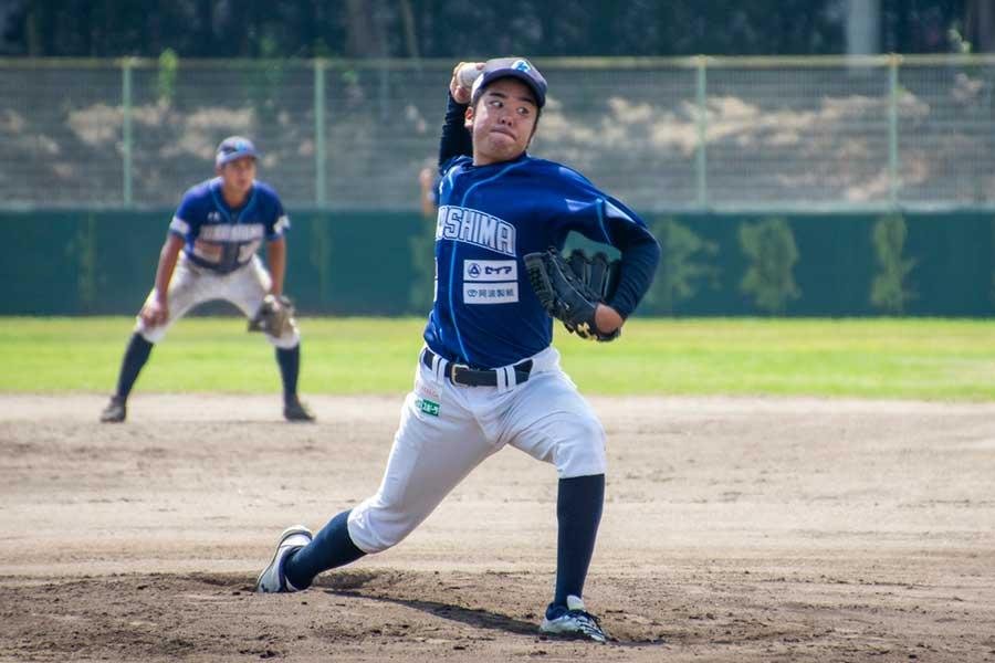 2018年に徳島インディゴソックスでプレーしていた和田一詩さん【写真:本人提供】