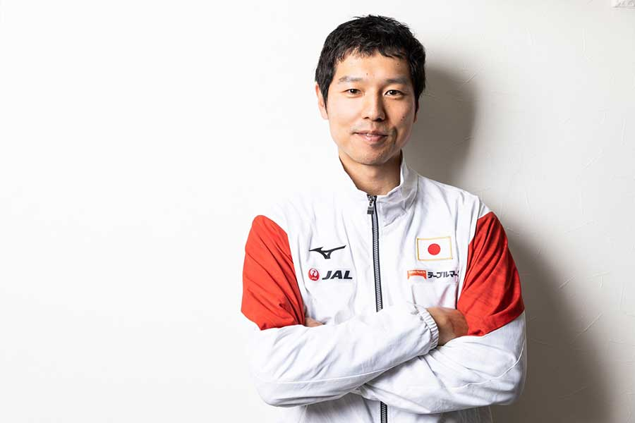 体操男子日本代表監督の水鳥寿思氏【写真:松橋晶子】