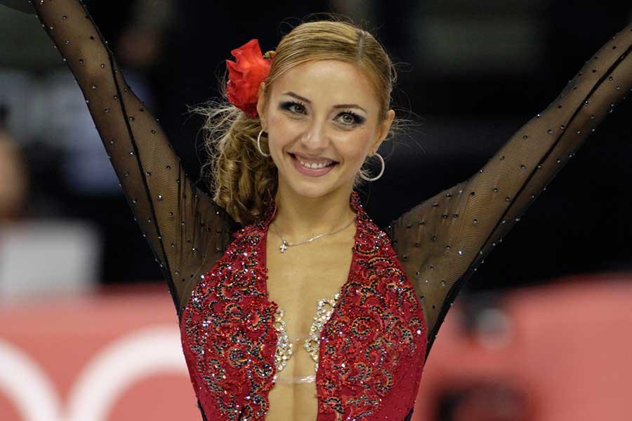 トリノ五輪アイスダンスで金メダルを獲得したタチアナ・ナフカ氏【写真:Getty Images】