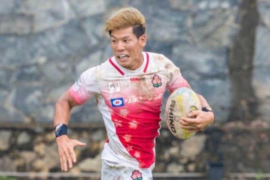 7人制ラグビー日本代表・林大成さん【写真:本人提供】