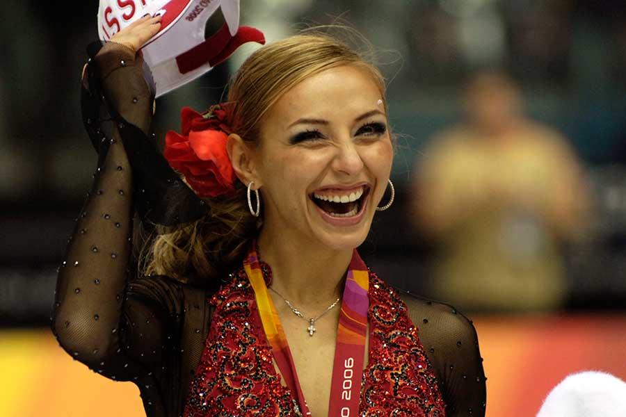 トリノ五輪アイスダンスで金メダルを獲得したタチアナ・ナフカさん【写真:Getty Images】