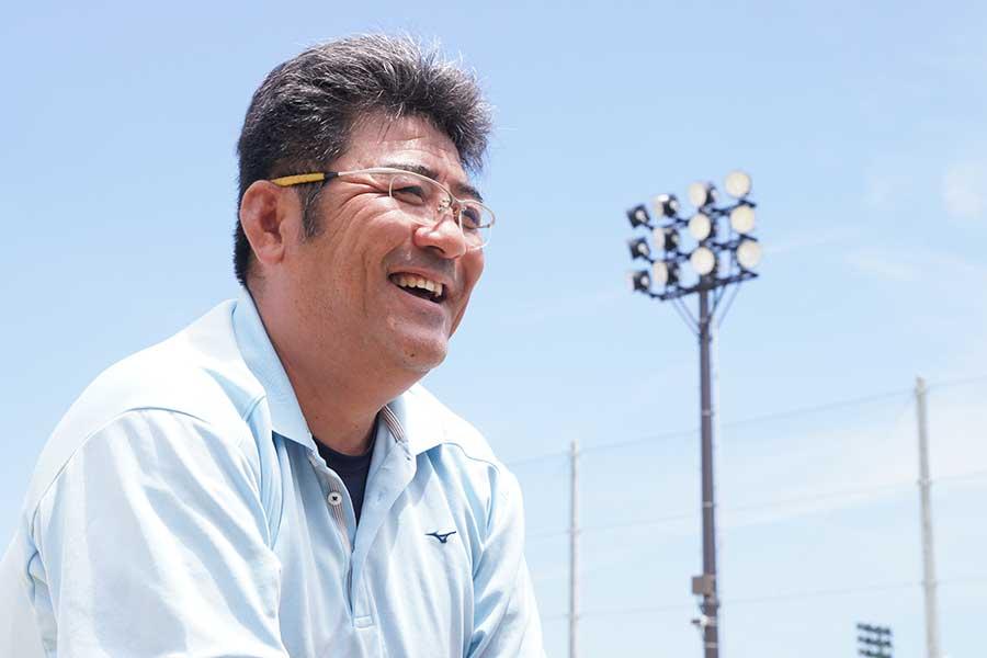 プロ野球・阪神で活躍した亀山つとむ氏【写真:村上正広】