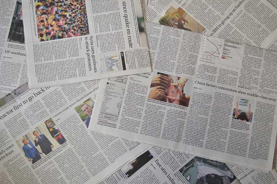 多くの高校スポーツが打ち切りになる中、ある米紙に気になる見出しが並んだ