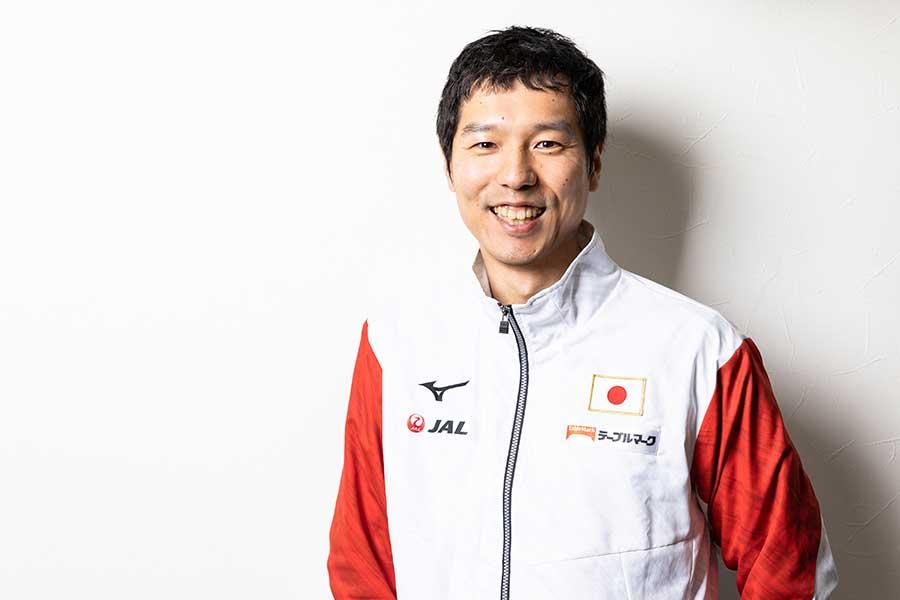 体操男子日本代表の水鳥寿思監督【写真:松橋晶子】