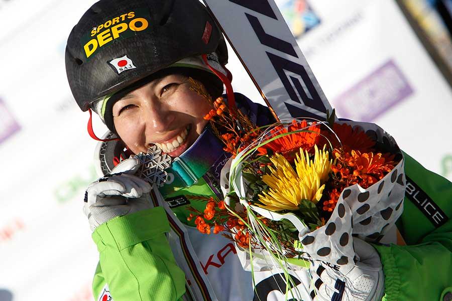 2013年世界選手権で銀メダルを獲得した伊藤みきさん【写真:Getty Images】