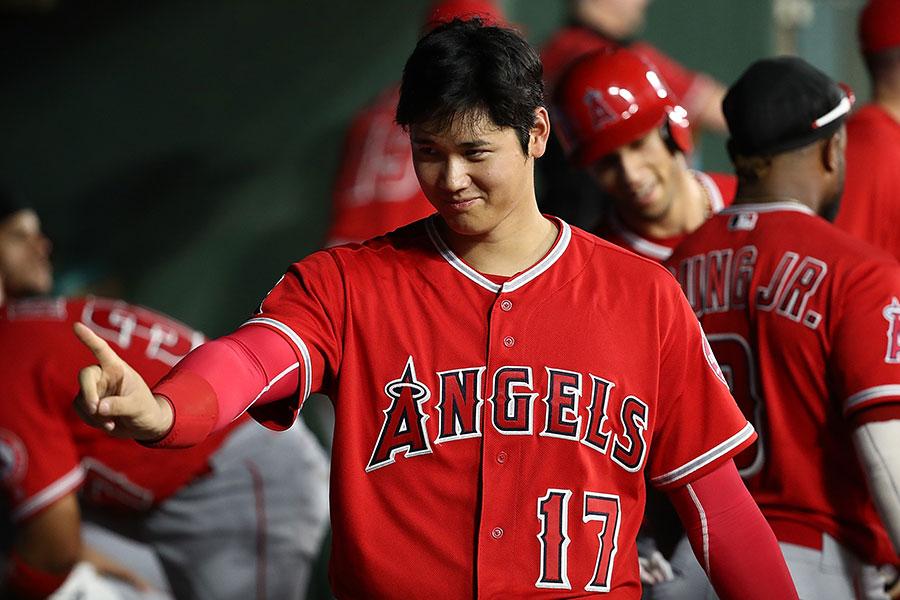 エンゼルスの大谷翔平【写真:Getty Images】