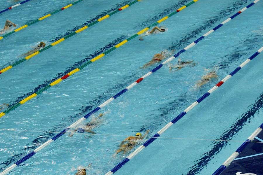 「新型コロナで実施できなくなった種目」ランキングの1位は「水泳」となった(写真はイメージ)【写真:Getty Images】