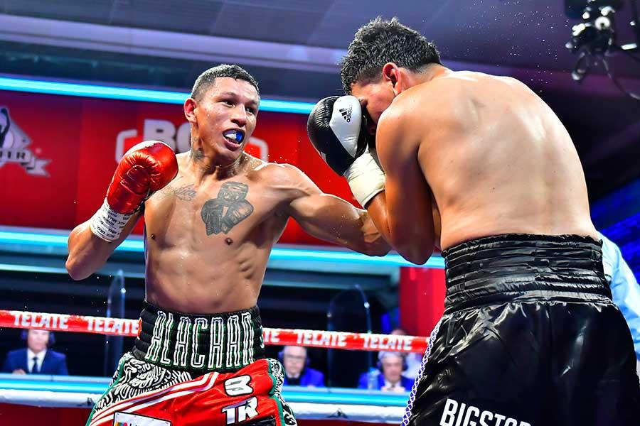 6回TKO勝ちを飾ったミゲル・ベルチェット【写真:Getty Images】