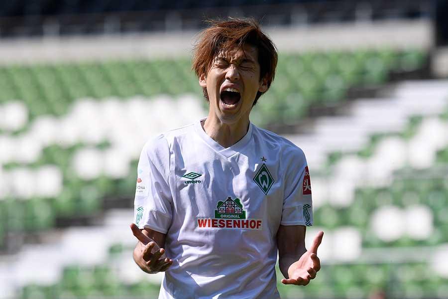 リーグ最終戦で2得点1アシストを記録した大迫勇也【写真:Getty Images】