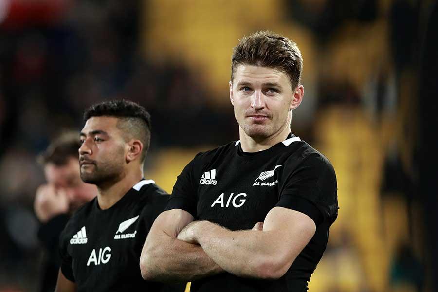 ニュージーランド代表のボーデン・バレット【写真:Getty Images】