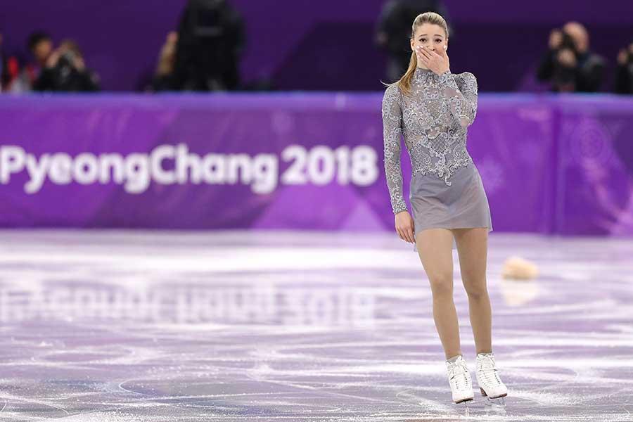 マリア・ソツコワ【写真:Getty Images】