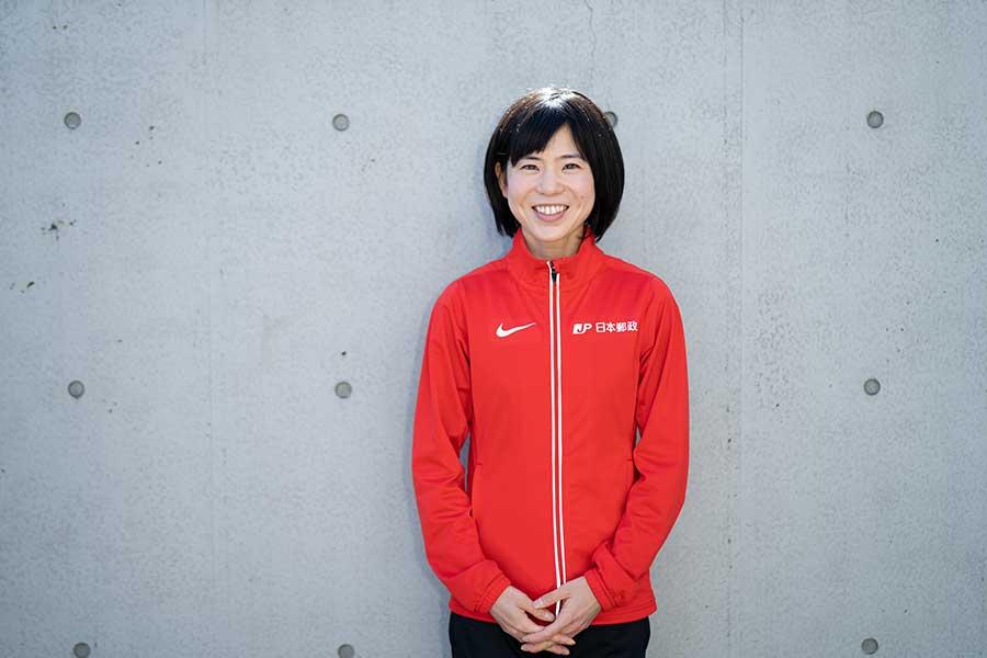 「やっぱり走るのが好きなのかな」 鈴木は笑顔を浮かべながら語った【写真:荒川祐史】