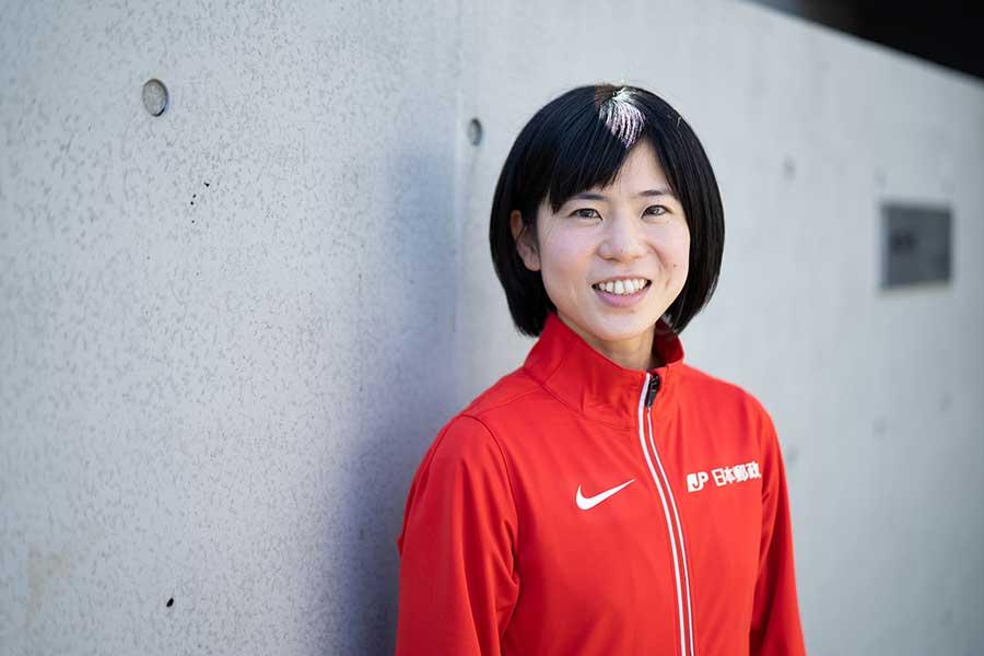 東京オリンピックのマラソン女子日本代表に内定した鈴木亜由子【写真:荒川祐史】