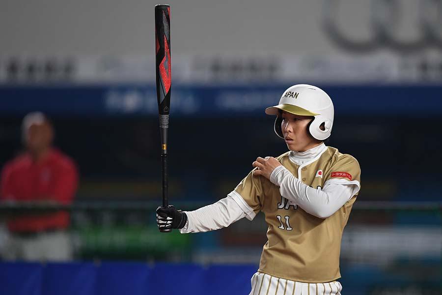 野球からソフトボールに転向した日本代表主将・山田恵里【写真:Getty Images】